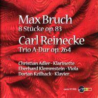 8 pièces pour clarinette alto et piano op 83 : Pièce en Si Maj n°7