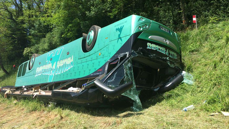 Resultado de imagen de Accident de bus dans le Jura : la faute au GPS ?
