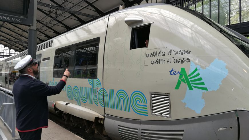 Pays basque les trains circulent de nouveau entre - Train from bayonne to st jean pied de port ...