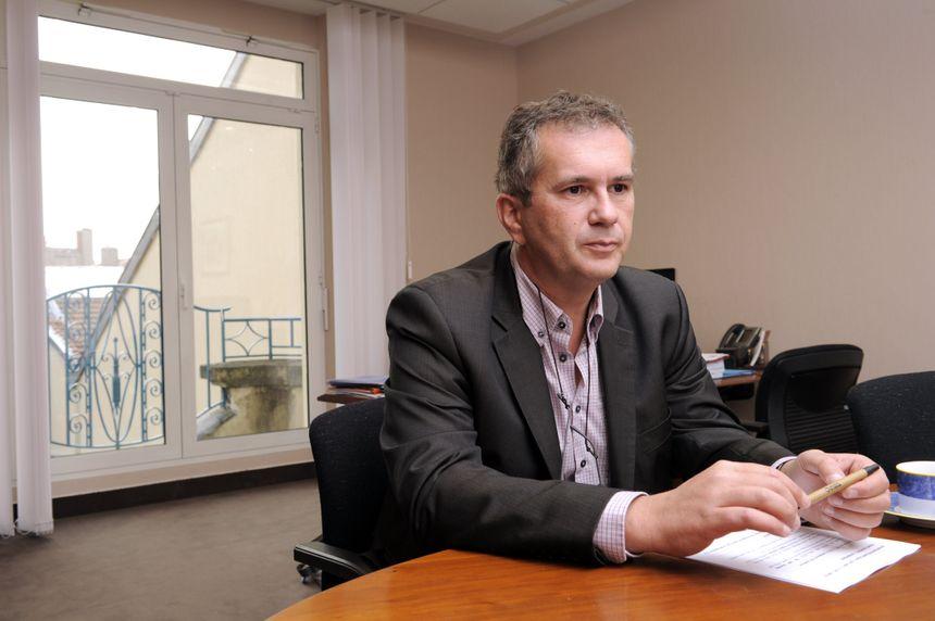 Pierre Mutzenhardt, le président de l'Université de Lorraine - Maxppp