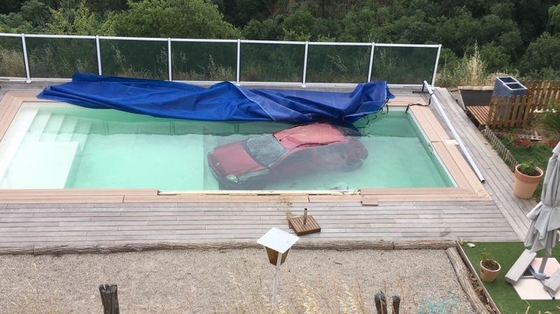 Photos sarras ils ouvrent leurs volets et trouvent for Apprendre a plonger dans une piscine