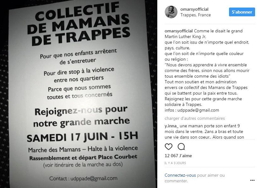 Profil Instagram Omar Sy (capture d'écran) - Aucun(e)