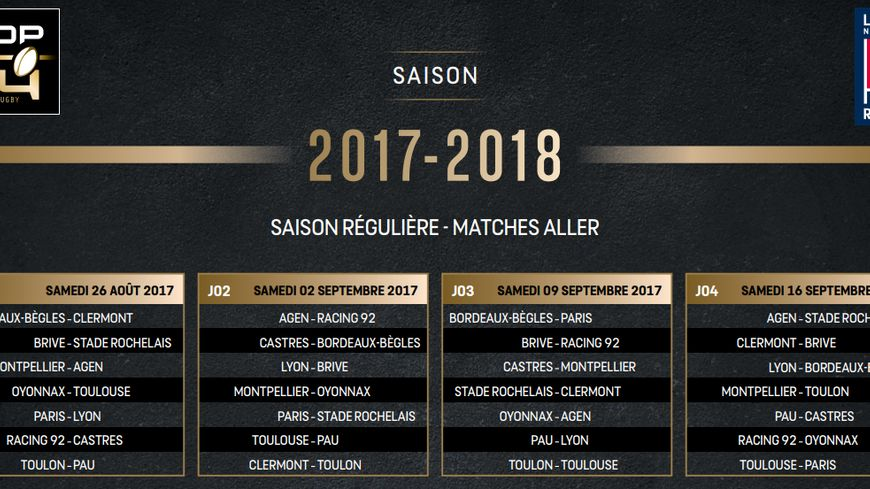 Top 14: Le Stade Rochelais se déplacera lors des deux premières journées