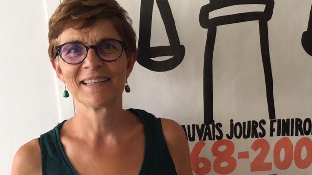 Clarisse Taron, présidente du Syndicat de la magistrature avocate générale à la cour d'appel de Besançon et prochainement avocate générale à la cour d'appel de Paris