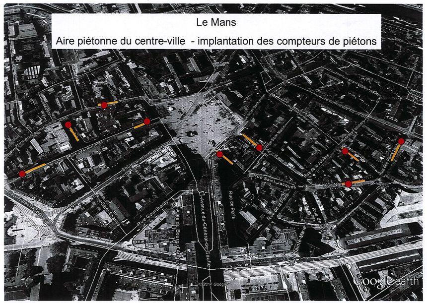 La carte des neufs boîtiers du Mans - Aucun(e)