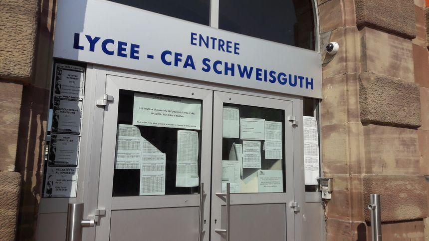 Le lycée Schweisguth à Sélestat fait partie des établissements qui passe au tour-numérique à la rentrée 2017 - Radio France