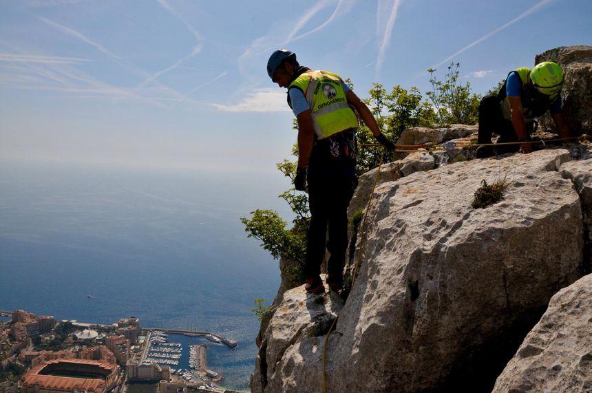 Les gendarmes du PGHM des Alpes-Maritimes interviennent à La Turbie - photos à retrouver sur la page Facebook du PGHM des Alpes-Maritimes - Aucun(e)