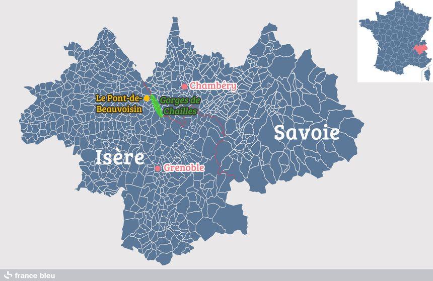 Les gorges de Chailles - Radio France