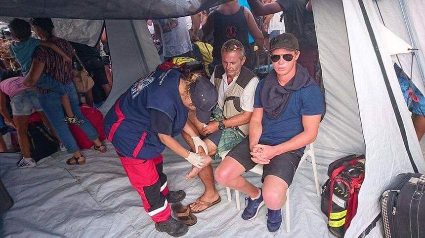 Les pompiers de l'urgence internationale sont aussi à Saint-Martin pour prodiguer des soins aux habitants - Aucun(e)