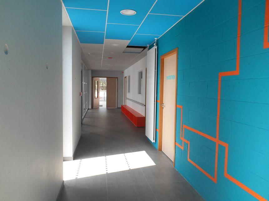 Les locaux flambants neufs de l'école publique de Saint-Hilaire-de-Clisson - Radio France