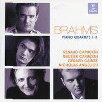 Quatuor pour violon alto violoncelle et piano n°3 en ut min op 60 : Scherzo