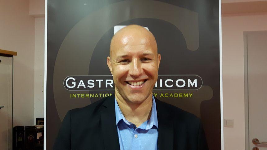 Olivier Cantaut , le directeur de Gastronomicom à Agde. - Radio France